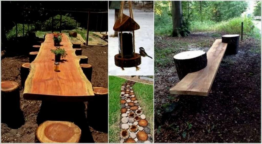 Le bois offre de nombreuses possibilités, voyez les meubles que vous ...