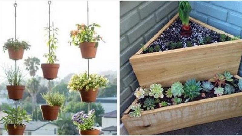14 id u00e9es de jardinage pour mettre en valeur votre balcon en d u00e9pensant le moins possible
