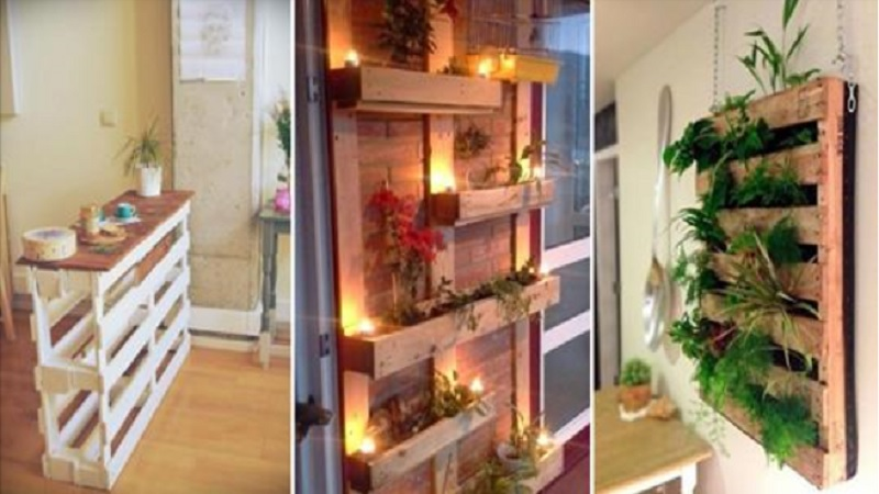 19 créations en bois de palettes pour décorer la maison et le jardin ...