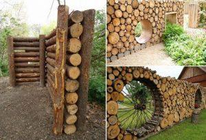 15 Superbes Fa 231 Ons De D 233 Corer Votre Jardin Avec Des Troncs