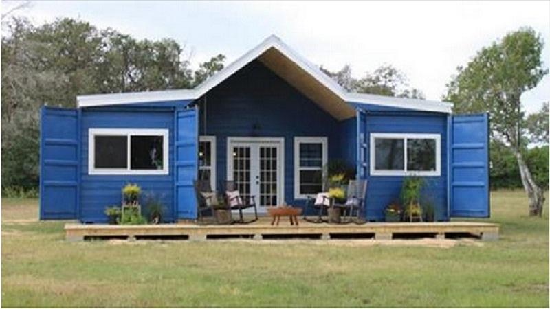 Aimeriez vous vivre dans cette maison construite avec des conteneurs - Maison avec container ...
